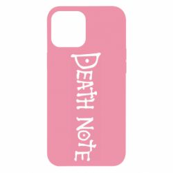 Чохол для iPhone 12 Pro Max Death note name