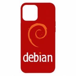 Чехол для iPhone 12 Pro Max Debian