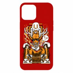 Чехол для iPhone 12 Pro Max Deer On The Throne