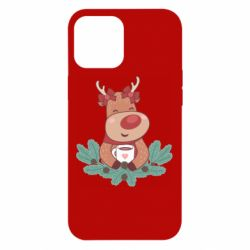 Чехол для iPhone 12 Pro Max Deer tea party girl