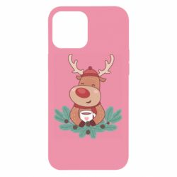 Чехол для iPhone 12 Pro Max Deer tea party