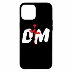 Чехол для iPhone 12 Pro Max depeche mode logo
