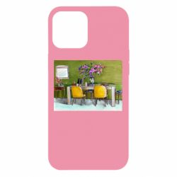 Чохол для iPhone 12 Pro Max Dining table with flowers