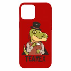 Чохол для iPhone 12 Pro Max Dinosaur with tea