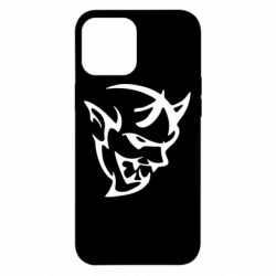 Чехол для iPhone 12 Pro Max Dodge demon logo