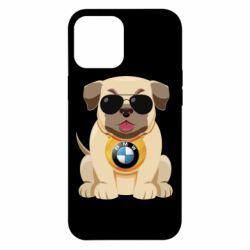 Чохол для iPhone 12 Pro Max Dog with a collar BMW