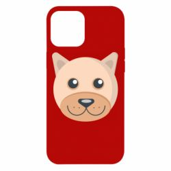 Чехол для iPhone 12 Pro Max Dog with a smile