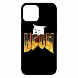 Чохол для iPhone 12 Pro Max Doom меов cat