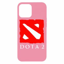 Чехол для iPhone 12 Pro Max Dota 2 Big Logo