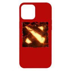 Чехол для iPhone 12 Pro Max Dota 2 Fire Logo