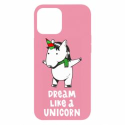 Чехол для iPhone 12 Pro Max Dream like a unicorn