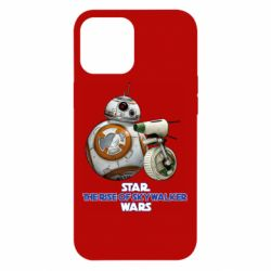 Чехол для iPhone 12 Pro Max Droids BB 8 and  D O  star wars the rise of skywalker