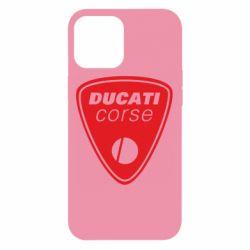 Чехол для iPhone 12 Pro Max Ducati Corse