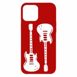 Чохол для iPhone 12 Pro Max Дві гітари