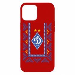 Чехол для iPhone 12 Pro Max Dynamo logo and ornament