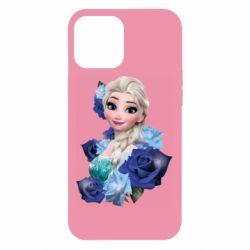 Чохол для iPhone 12 Pro Max Elsa and roses