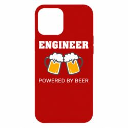 Чохол для iPhone 12 Pro Max Engineer Powered By Beer