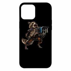 Чехол для iPhone 12 Pro Max Енот Стражи Галактики