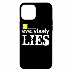 Чехол для iPhone 12 Pro Max Everybody LIES House