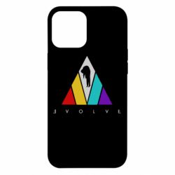 Чехол для iPhone 12 Pro Max Evolve logo