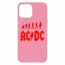 Чохол для iPhone 12 Pro Max Еволюція AC\DC