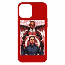 Чохол для iPhone 12 Pro Max Falcon and the Winter Soldier Art