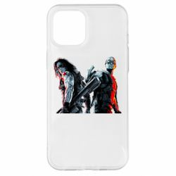 Чохол для iPhone 12 Pro Max Falcon and Winter Soldier