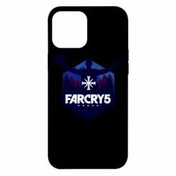 Чохол для iPhone 12 Pro Max Far cry 5 silhouette Joseph Seed