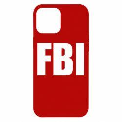 Чехол для iPhone 12 Pro Max FBI (ФБР)