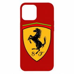 Чехол для iPhone 12 Pro Max Ferrari