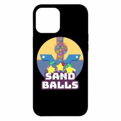 Чехол для iPhone 12 Pro Max Finish Sand balls