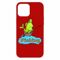 Чехол для iPhone 12 Pro Max Fish Fishing