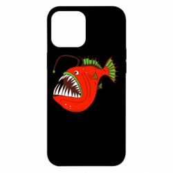Чехол для iPhone 12 Pro Max Fish with a lamp
