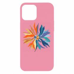 Чохол для iPhone 12 Pro Max Flower coat of arms of Ukraine