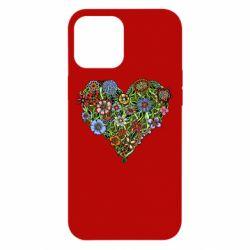 Чохол для iPhone 12 Pro Max Flower heart