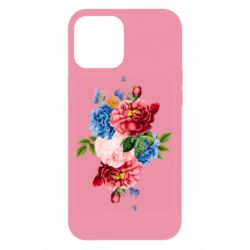 Чохол для iPhone 12 Pro Max Flowers and butterfly
