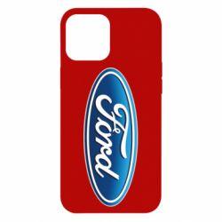 Чехол для iPhone 12 Pro Max Ford 3D Logo