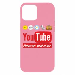 Чохол для iPhone 12 Pro Max Forever and ever emoji's life youtube