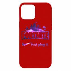 Чохол для iPhone 12 Pro Max Fortnite just play it