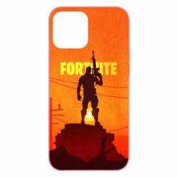 Чехол для iPhone 12 Pro Max Fortnite minimalist silhouettes