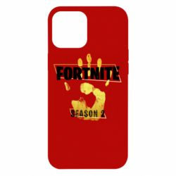 Чехол для iPhone 12 Pro Max Fortnite season 2 gold