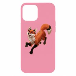 Чехол для iPhone 12 Pro Max Fox in flight