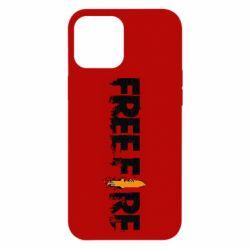 Чехол для iPhone 12 Pro Max Free Fire spray