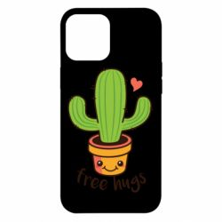 Чохол для iPhone 12 Pro Max Free Hugs Cactus
