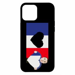 Чехол для iPhone 12 Pro Max French flag and president