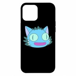 Чехол для iPhone 12 Pro Max Funny cat from Rick and Morty season 4
