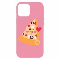 Чехол для iPhone 12 Pro Max Funny pizza