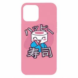 Чехол для iPhone 12 Pro Max Funny sushi
