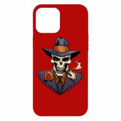 Чехол для iPhone 12 Pro Max Gangsta Skull