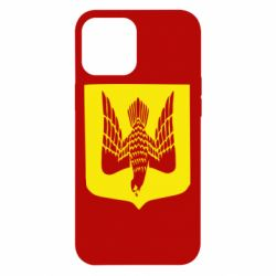 Чохол для iPhone 12 Pro Max Герб України сокіл